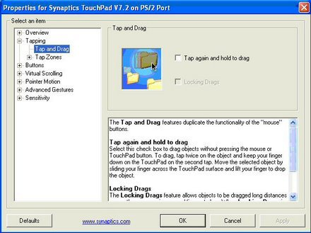 Turning Off Touchpad Tap and Drag on Acer Aspire | Turn Off